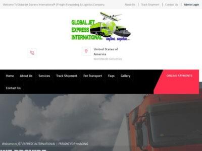 Globaljetexpressinternational.com Delivery Scam Review