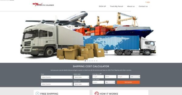 Dhgatecourier.com Delivery Scam Review