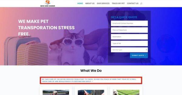 Movenowcourier.com Delivery Scam Review