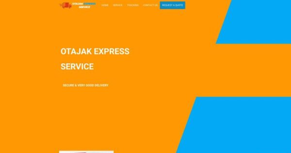 Otajakexpressservice.com Delivery Scam Review