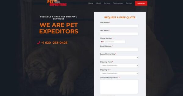 Petexpeditors.com Delivery Scam Review