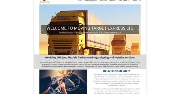 Movingtargetexpressltd.com Delivery Scam Review