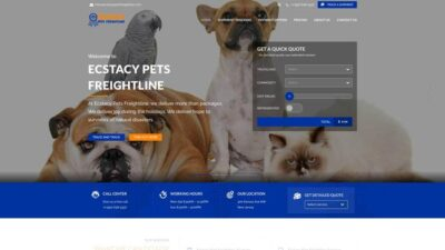 Ecstacypetsfreightline.com Delivery Scam Review