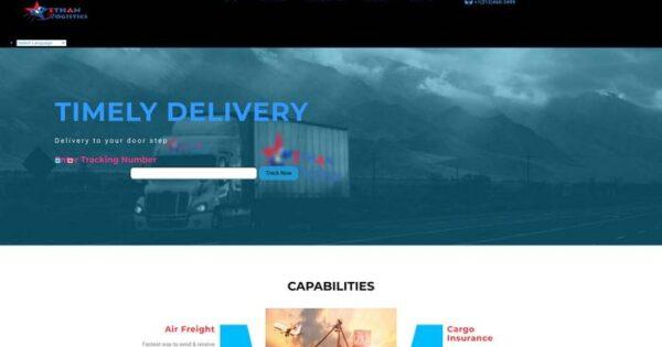 Ethan-logistics.com Delivery Scam Review