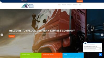 Falcondeliveryexpress.com Delivery Scam Review