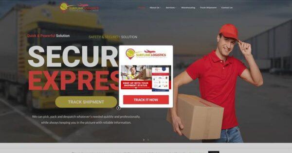 Surflinklogistics.com Delivery Scam Review