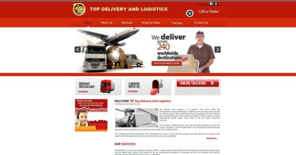 Topdeliveryandlogistics.com Delivery Scam Review