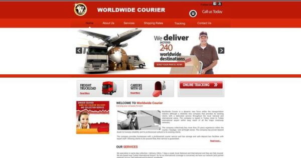 Worldwcourier.com Delivery Scam Review